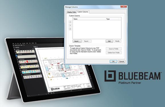Creating & Managing Custom Columns in Bluebeam Revu