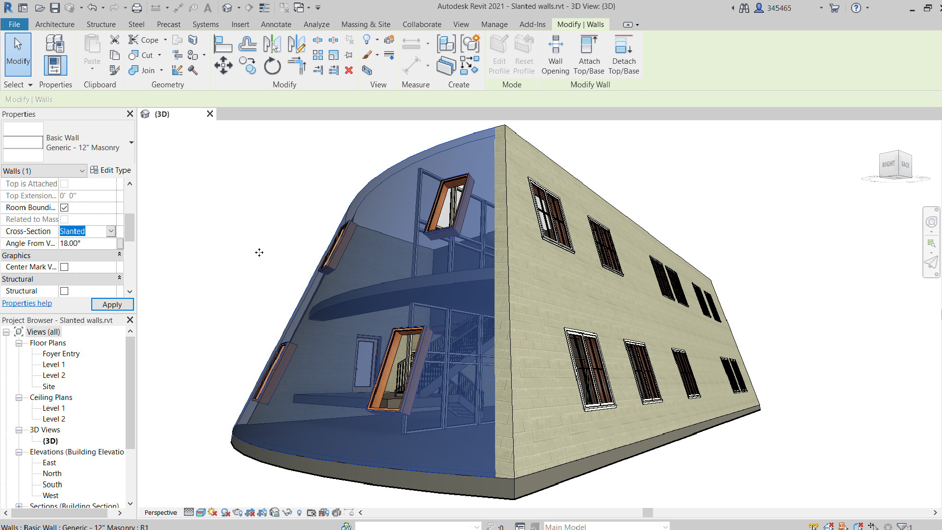 What's New in Revit 2021 – Architecture Updates